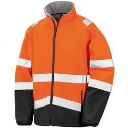 Herren Safety Softshell Jacke