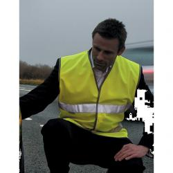 Herren Motorist Safety Vest...