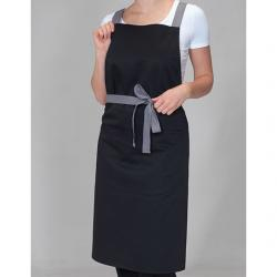Latzschürze Apron with Grey...