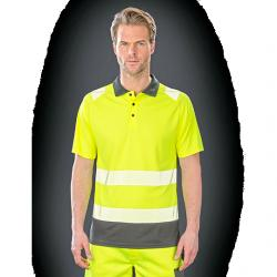 Recycled Safety Polo Shirt...