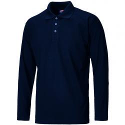 Langärmliches Polo-Shirt